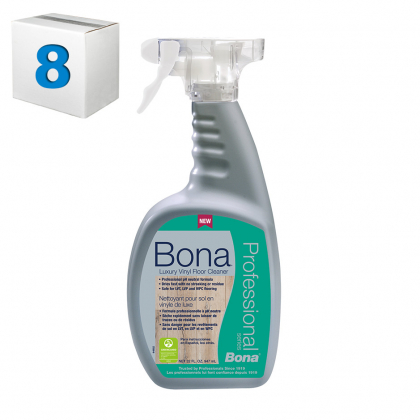 Bona Luxury Vinyl Floor Cleaner 32oz case of 8