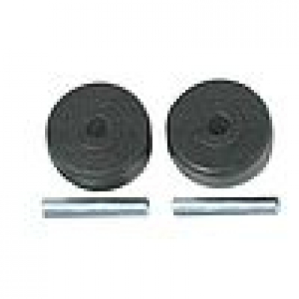 Wessel Werk EBK340 front wheel and axle 2pk