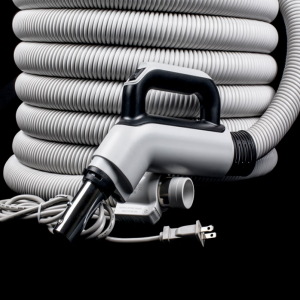 Fitall Dual Voltage Hose 50' Black and Grey Handle