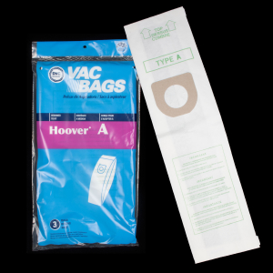 Hoover A Bags 3pk Top Fill Fits Concept Convertible Elite Legacy Decades Innovation