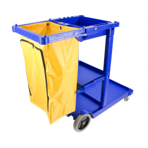 Maid Cart Janitorial 44'' x 20'' x  38''  28 lbs