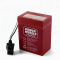 Power Wheels S6V Battery With Internal Fuse Red